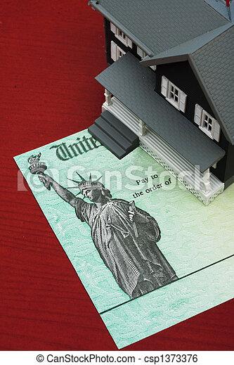 Mortgage deductions - csp1373376