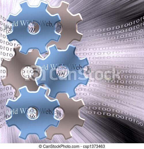 WWW Machine - csp1373463