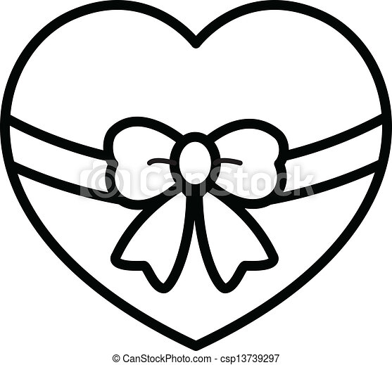 Heart Shaped Box Drawing Drawing Art of Cartoon Heart