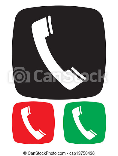Telephone icon Vector Clip Art Illustrations. 44,154 Telephone ...