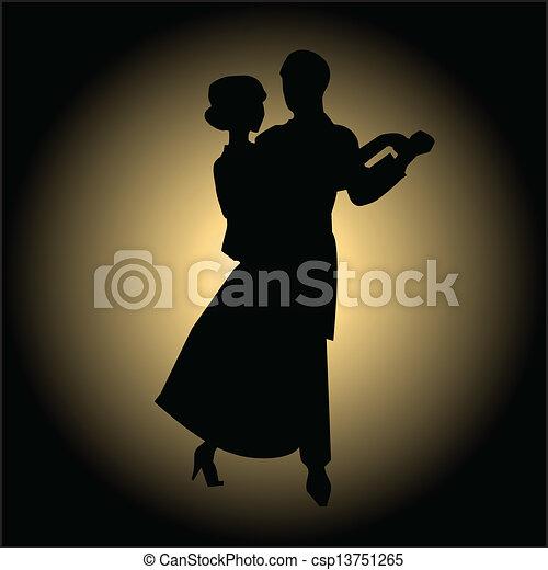 Can Stock Photo Csp on Foxtrot Steps Ballroom Dance