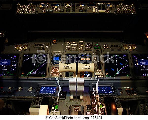 Flight deck - csp1375424