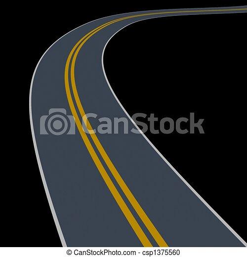 wander road - csp1375560