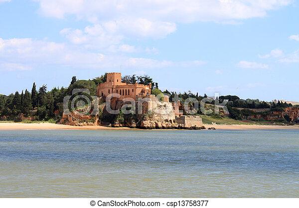 Fort of Sao Joao do Arade, Ferragudo, Portugal - csp13758377