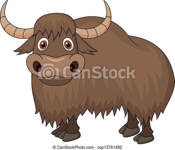 Clip Art Yak Clipart yaks clip art and stock illustrations 522 eps yak cartoon vector illustration of cartoon