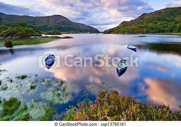 Lake in Killarney - csp13765161