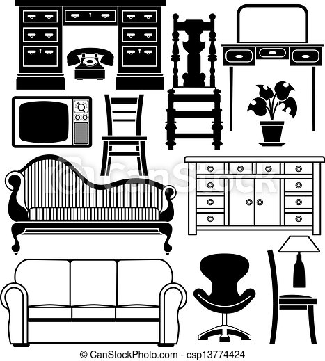 Cl0973bedroom together with Todays Quote Stephen Covey Quote together with Black And White Flower Images furthermore Outline Kitchen Silhouette 11411007 furthermore Drawing. on cartoon black and white living room