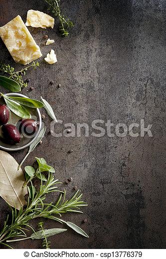 Food Background - csp13776379