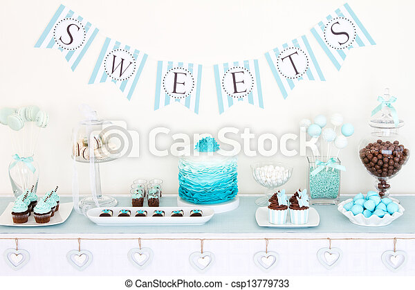 Stock Photos Of Dessert Table For A Party Csp13779733