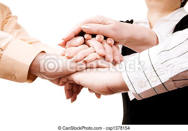 equipe affaires - csp1378154