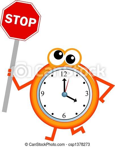 stop time - csp1378273