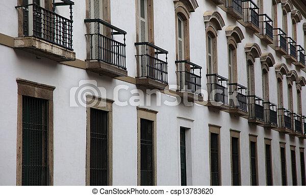 Historic building - csp13783620