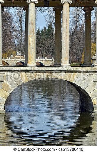 Lazienki bridges - csp13786440