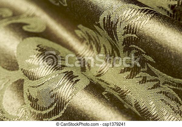 Elegant Silk Material Background - csp1379241