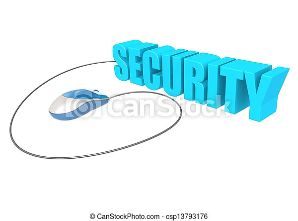 Computer mouse and security - csp13793176
