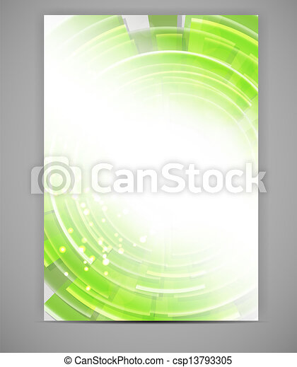 Business blank template vector illustration - csp13793305