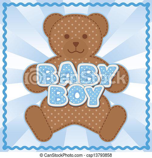 Boy With Teddy Bear Teddy Bear Baby Boy