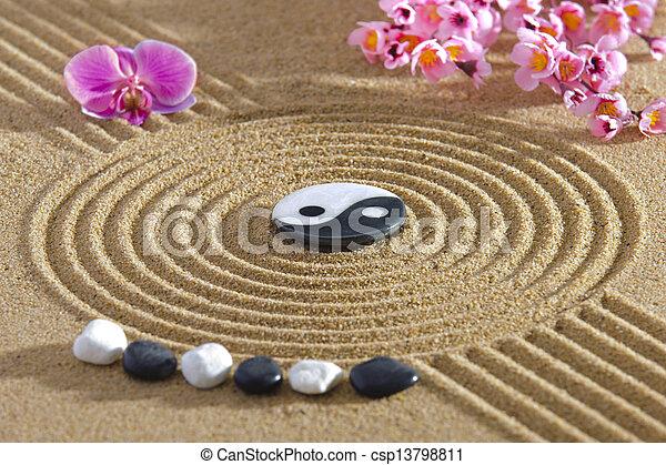 Photographies de japon yin zen jardin yang japan zen for Jardin yin yang