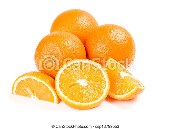 Exotic fruits oranges  - csp13799553