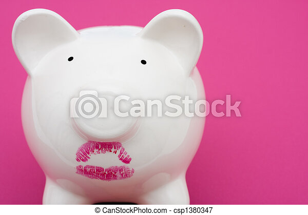 Pig Wearing Lipstick is Still a Pig - csp1380347