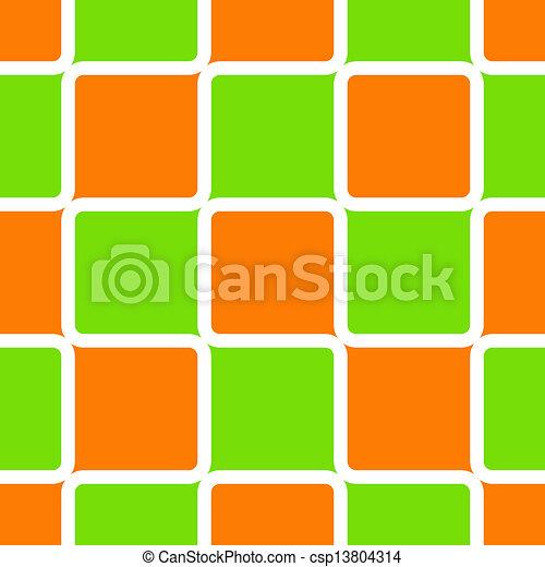 Retro Squares - csp13804314