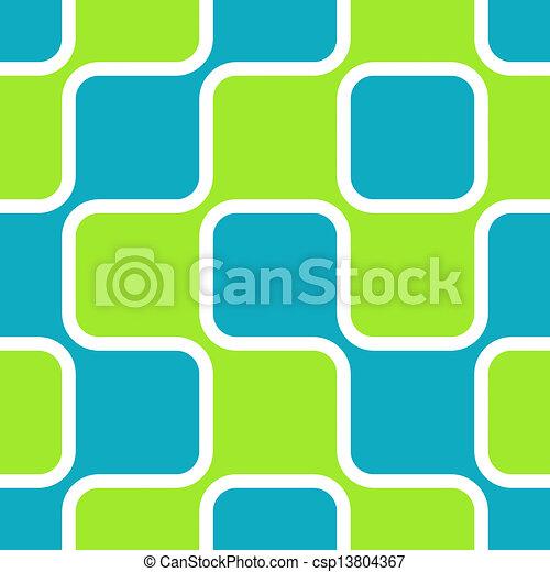 Retro Squares - csp13804367