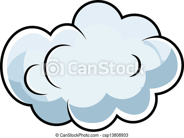 Cloud Designs Drawings Cute Comic Cloud Cartoon
