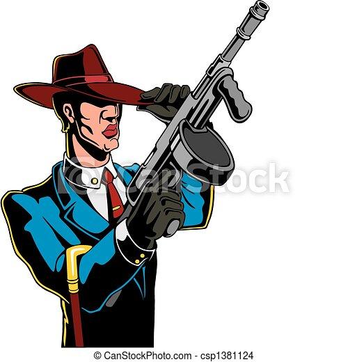 gangster - csp1381124