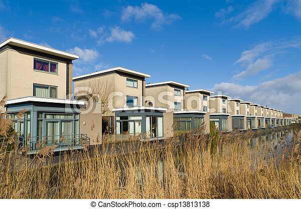 residential houses - csp13813138