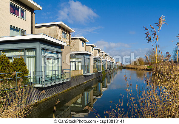 residential houses - csp13813141