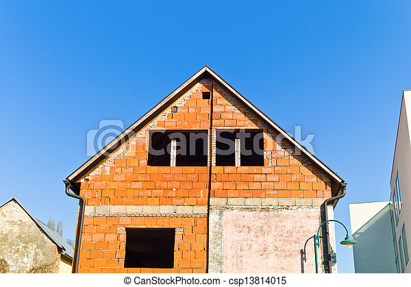 conversion and extension of a residential building - csp13814015