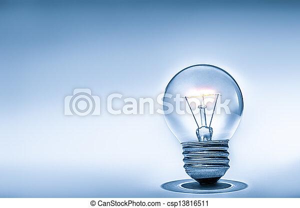 Light bulb - csp13816511