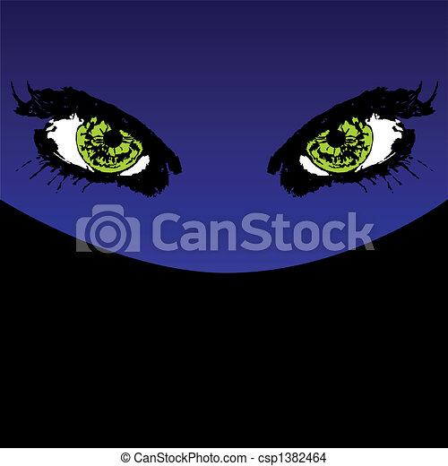 Mystery eyes - csp1382464