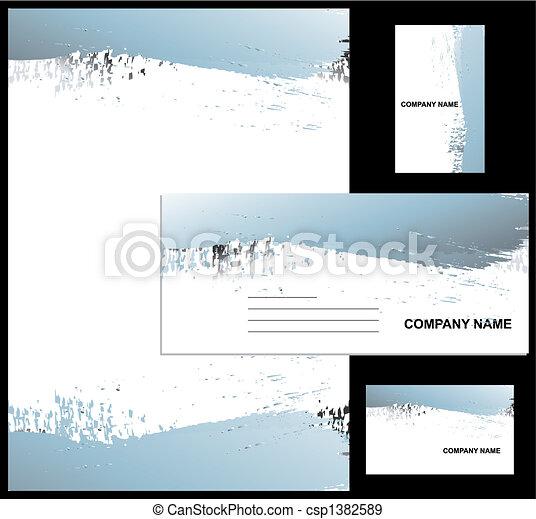 Corporate identity design - csp1382589