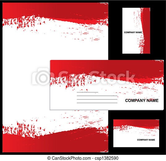 Corporate identity design - csp1382590
