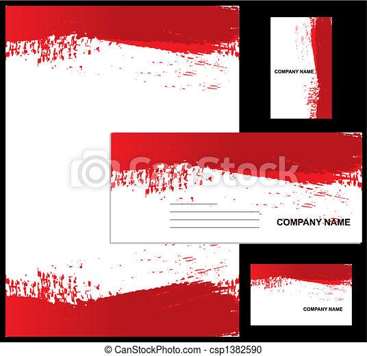 Corporate identity design - csp1382590