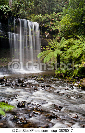 Russell Falls - csp13826017