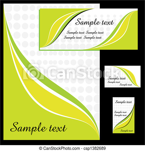 Corporate identity design - csp1382689