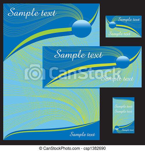 letterhead template - csp1382690