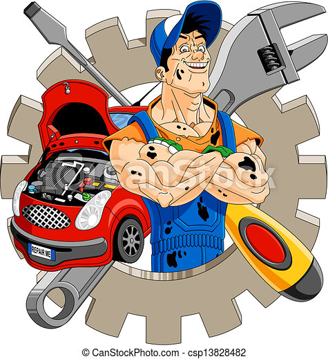 vector of cheerful mechanic abstract illustration of a wrench clipart png wrench clipart png