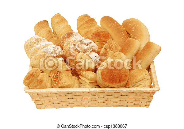 Bread and Pastry - csp1383067