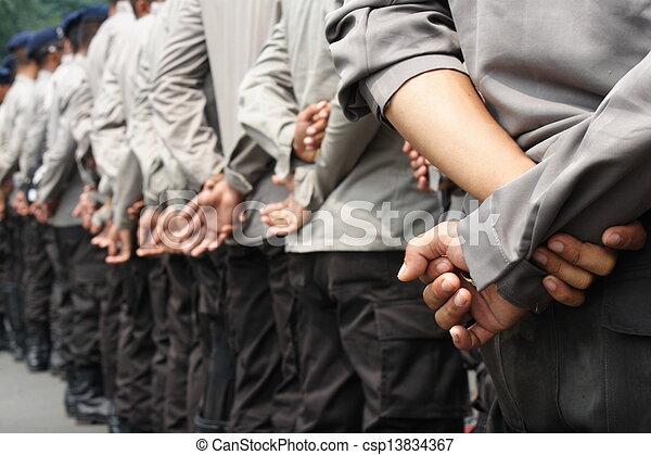 indonesian police - csp13834367