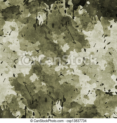Camouflage military background - csp13837734