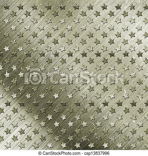 militär,  grunge, bakgrund - csp13837996