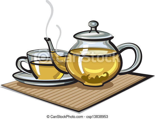 Clip Art Tea Clipart green tea illustrations and clipart 8381 royalty free in cup teapot