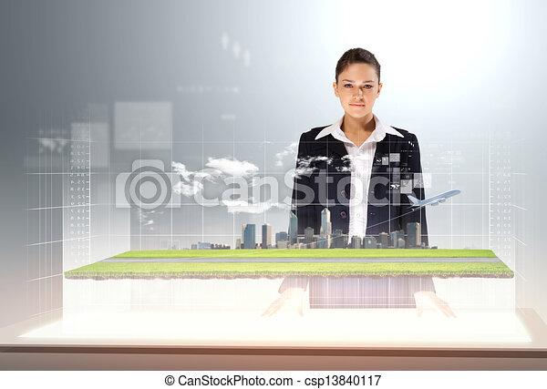 Transportation and travel - csp13840117