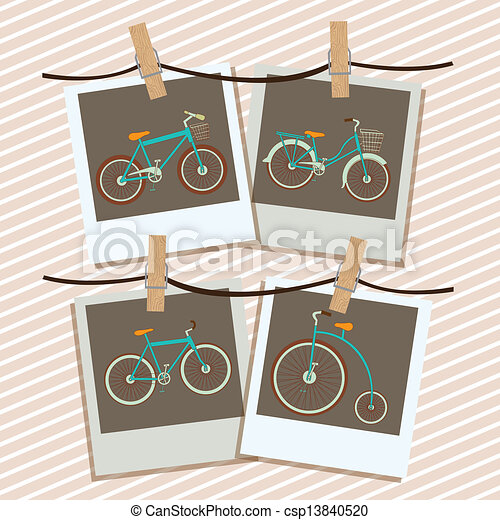 Illustration of Bicycle  - csp13840520