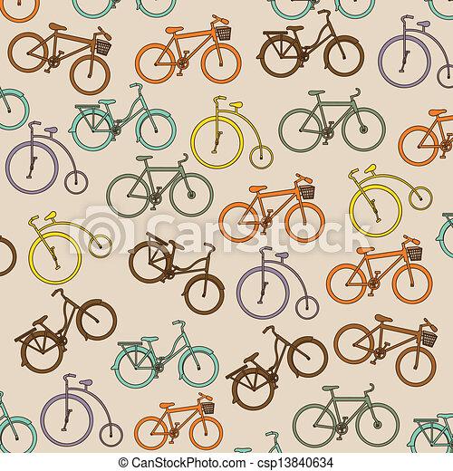 Bicycle  Illustration  - csp13840634