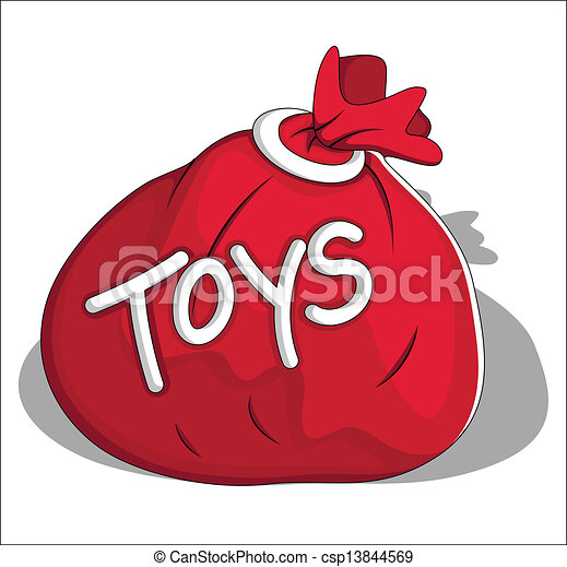 Image result for bag of toys graphic