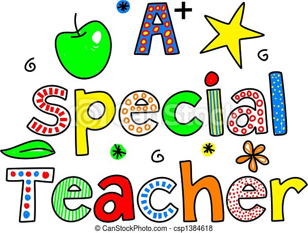 a special teacher - csp1384618